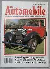 The Automobile magazine 07/1990 featuring Bugatti, Baker, Argyll