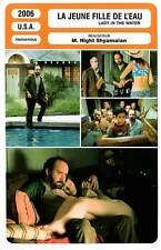 FICHE CINEMA : LA JEUNE FILLE DE L'EAU Giamatti,Shyamalan 2006 Lady In The Water