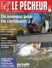 Revue le pêcheur de France No 208 Novembre 2000