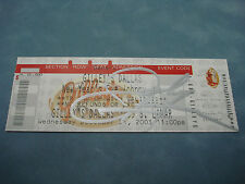 AUTHENTIC AUTOGRAPH **JOHNNY LEE SIGNED GILLEY'S DALLAS CONCERT TICKET** C.O.A
