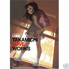 LO TAKAMICHI LOVE WORKS FLOW COMICS ART BOOK JAPAN