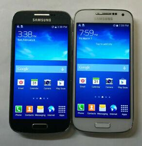 Lot of 2 - Samsung Galaxy S4 Mini SCH-R890 (U.S. Cellular) Bad LCD (B-533) -