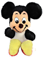 Walt Disney Characters Mickey Mouse Stuffed Plush California Stuffed Toys 1970s