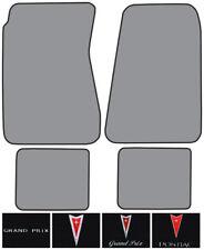 1969-1972 Pontiac Grand Prix Loop Carpet Logo Floor Mat 4pc