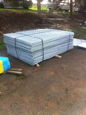 Galvanised sheet metal fencing mesh 2000x1200 50x50x3