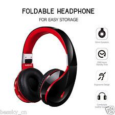 Wireless Bluetooth v4.0 Foldable Headset Stereo Headphone Earphone for CellPhone