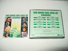 The Heart And Soul Of Country 6 cd set Readers Digest 1991-112 tracks Ex Conditi
