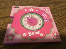 VINTAGE BARBIE PRETEND TEACHING CLOCK !