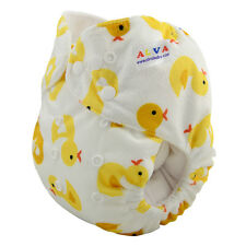 0Alvababy One Size Pocket Cloth Diaper Washable Reusable New Nappy W/ Inserts