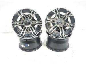19 Kawasaki Mule Pro FXT 820 Set of 4 SS ITP Wheel Rims A