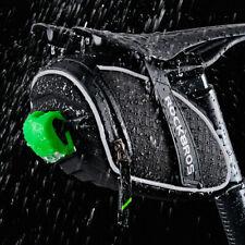 waterproof Rear Bike Bag Saddle Cycling Bicycle Bags Rainproof Seatpost Reflect