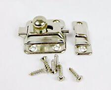 2-Pack Steel Cupboard Catch, Wardrobe Lock, Cabinet Latch, Catch