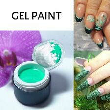 Turquoise Gel Painting gel  for Nail Art Gel Paint like Emi