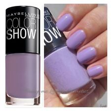 Maybelline Colorshow 60 SECONDS Nail Polish Varnish 324 Love Lilac NEW+FREE POST