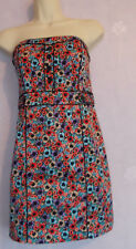 New Ladies H&M DIVIDED strapless cotton dress Size S