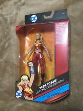 "DC Multiverse Teen Titans Wonder Girl 6"" Figure with Dr. Psycho BAF New in Box"