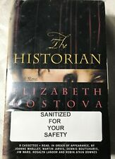 THE HISTORIAN-ELIZABETH KOSTOVA-AUDIOBOOK 8 LIKE NEW CASSETTES-2005 TIME WARNER