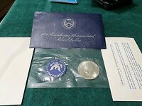 1972-S Uncirculated Silver 40% Eisenhower IKE Dollar US Mint UNC Coin Ideal Gift