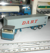 SEMI TRAILER WIKING CAMION ANTIQUE SCANIA LB 111 CONTAINER TRUCK DART 1:87 HO