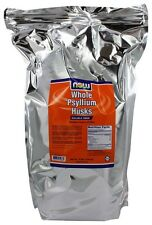 Whole Psyllium Husk Mega Pack 10 lbs by NOW Foods