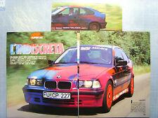 AUTO994-RITAGLIO/CLIPPING/NEWS-1994-BMW FRANKEN 318i COMPACT - 3 fogli