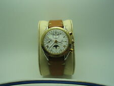 OMEGA SPEEDMASTER,SS/18K GOLD RTEF 375.0034,AUTO,TRIPLE DATE,MOONPHASE,CAL 1115