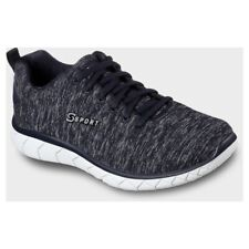 Skechers S Sport Womens Resplendent Athletic Shoes Sneakers - Navy - Size 9 NEW