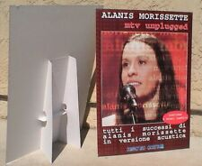 "Alanis Morissette ""Mtv Unplugged"" Large Display /Stand-Up From Italy-Very Rare!"