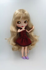 Takara Neo Blythe Nude Doll from Factory464 Matte Skin Face+Azone L Body