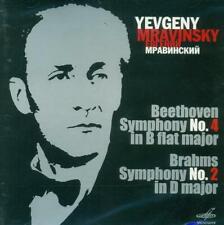 Yevgeny Mravinsky - Beethoven Symphony No. 4 & Brahms No. 2