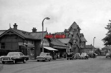 PHOTO  BARNTON RAILWAY STATION MID-LOTHIAN EXTERIOR 1962 CR TERMINUS OF BRANCH F