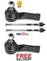 RENAULT CLIO MK3 2006-2011 FRONT INNER TIE RODS & OUTER TRACK ROD ENDS SET NEW