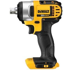 "DEWALT DCF880 20V MAX 1/2"" Cordless Impact Wrench (bare) 20-Volt NEW DCF880B"