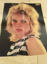 Kim Wilde Elvis Presley Poster