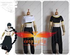 Magi The labyrinth of magic Judal Black Upscale Anime Cosplay Costume