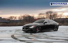 20x9 20x11 +28 Rohana RC8 5x114 Black Wheel Fit Maserati ghibli 2014 Concave Rim