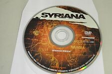 Syriana (DVD, 2006, Widescreen)Disc Only Free Shipping