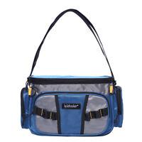 Waterproof Fishing Tackle Bag Waist Shoulder Pack Box Reel Lure Gear Storage Bag