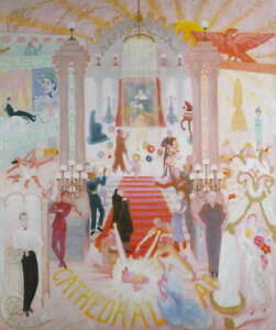 Florine Stettheimer The Cathedrals of Art Giclee Paper Print Poster Reproduction