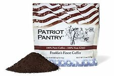 Patriot Pantry Coffee Franklins Finest Emergency 60 Serving Freeze-dried Camping
