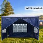 3x4x2.5M Tent Gazebos Waterproof Heavy Duty Outdoor Large Area 4 Side Party UK