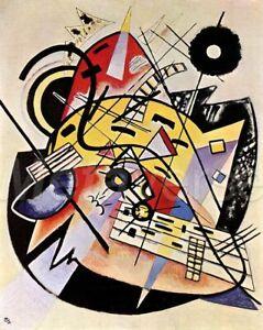 Print Poster wassily kandinsky the white dot kunsthalle 1923