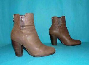 bottines boots GEOX en cuir marron pointure