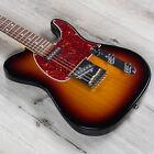 G&L Fullerton Deluxe ASAT Classic Guitar, Caribbean Rosewood, 3-Tone Sunburst for sale