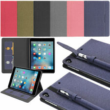 """Flip Leather Smart Case with Pencil Holder For Apple iPad 7th Generation 10.2"""""""