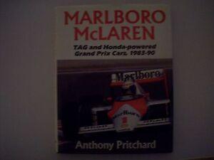 MALBORO McLAREN,TAG AND HONDA POWERED GRAND PRIX CARS,1983-90,Anthony pritchard