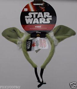 Disney Star Wars Yoda Dog Headband Size Small/Medium NWT