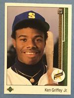 1989 Upper Deck #1 KEN GRIFFEY Jr. (Mariners) RC (Rookie Card)