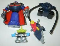 Emperor Zurg Saw-Bot Showdown Action Figure LOT Toy Story Disney Pixar Alien