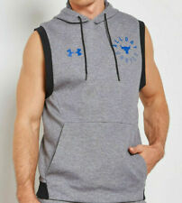 New Under Armour x Project Rock Hoodie Men's sizes sleeveless All Day Hustle NWT